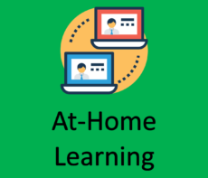At-Home Learning Button 2